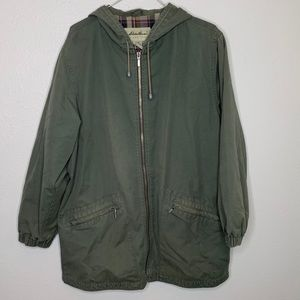Eddie Bauer| Army Green | Jacket with hood